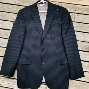 Hugo Boss Men's Pinstripe Sports Coat Blazer 42L